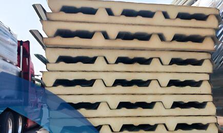 Panel aislante para techo