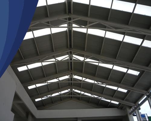 Lámina acrylit para techo