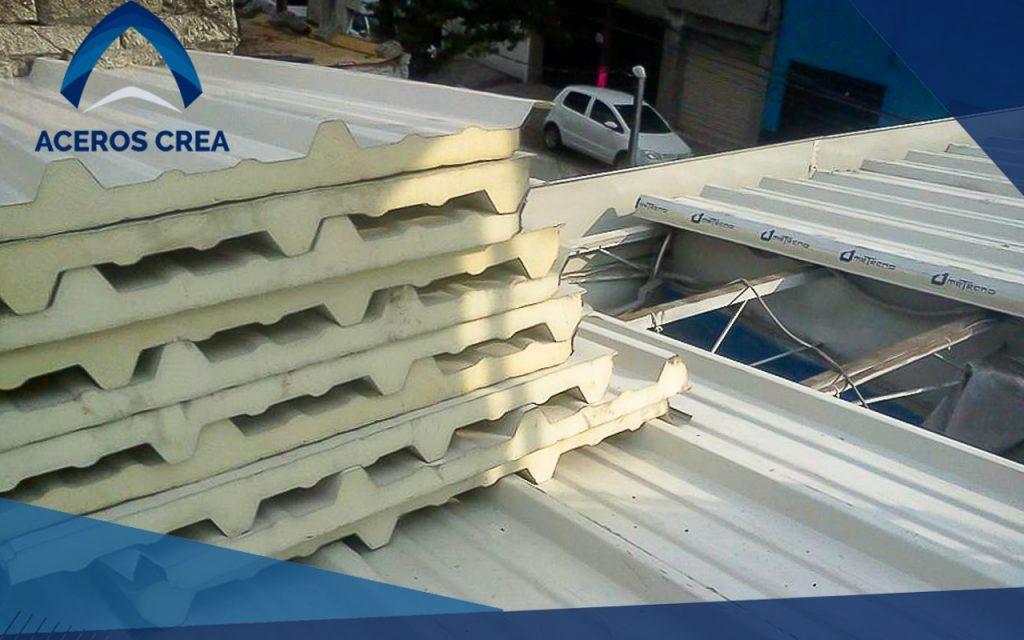 Panel para techo Metecno