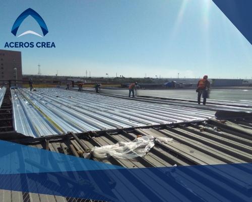 Proceso de construcción con lámina KR18