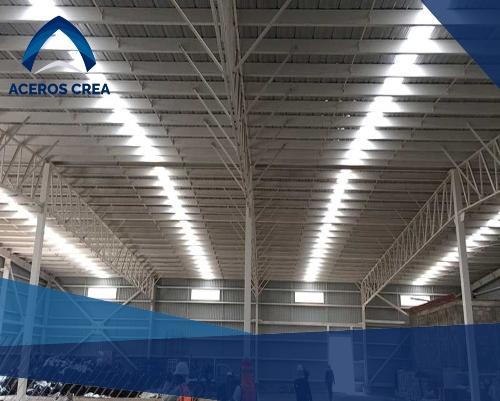 Construcción de techos de lámina galvanizada