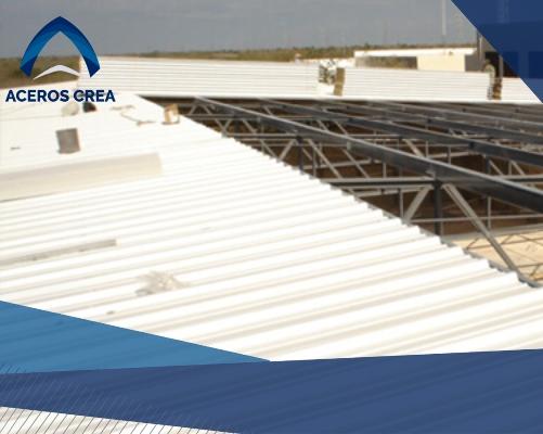 Instalación de panel glamet para techo