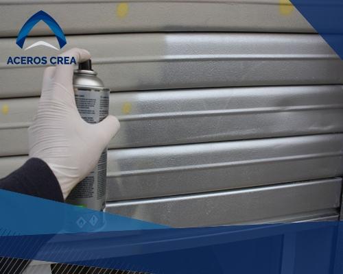 La lámina galvanizada pueder ser pintada a conveniencia de manera sencilla. Compra con nosotros. ¡Somos fabricantes de láminas!