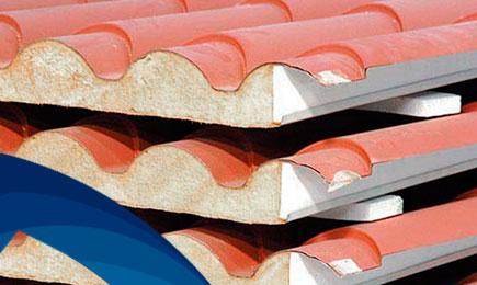 Panel tipo teja metcoppo