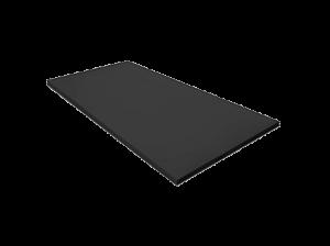 placa lisa negra